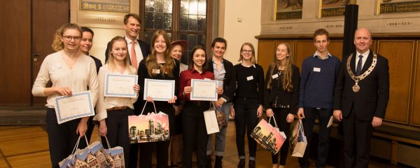 22.1.2018: DFG-Schülerpreisverleihung