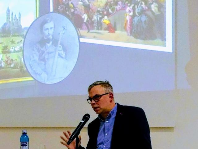 Olivier Schwarz referiert zu Jacques Offenbach