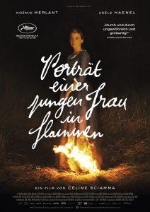 Film: Portrait einer jungen Frau in Flammen